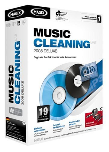 MAGIX Music Cleaning Lab 2008 deluxe