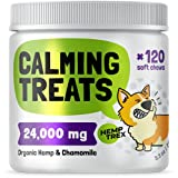 ✅ Hemptrex organic hemp chews dogs will not make your dog sick 😬 unlike other products 🚫 You don't need a calming collar for dogs or calming spray for dogs! Hemptrex dog hemp chewables are much better, packed with 🌼 organic chamomile, 🌿 hemp plus val...