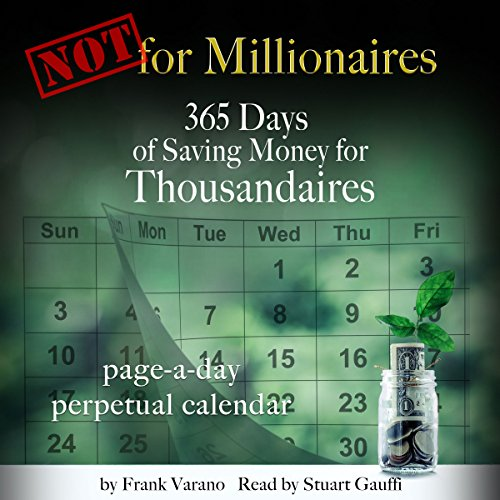 Not for Millionaires audiobook cover art