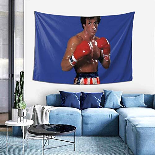 Rocky Iv - Tapiz para sala de estar, dormitorio, dormitorio, decoración para colgar en la pared, 152,4 x 101,6 cm