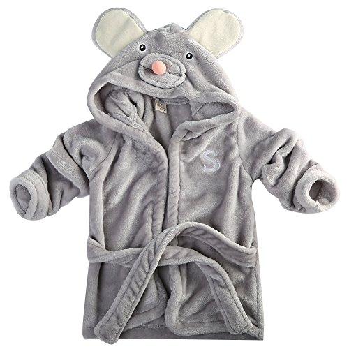 schattig jongen meisje dier ontwerp badjas baby capuchon nacht gewaad bad handdoek baby honing
