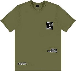 Camiseta Meia Malha Masculina Rovitex Teen