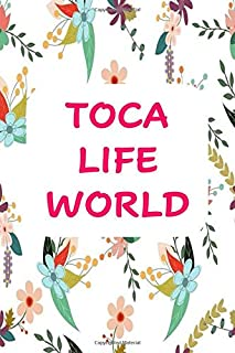"Toca life world: Creative Writing Notebook and Journal, Diary, Notebook and Journal Book: 6x9"", 120 pages For Writing Note..."