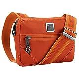 Lewis N. Clark Women's Secura Anti-Theft Commuter Shoulder Bag, Ember