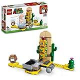 LEGO- Super Mario Set de Expansión: Pokey del Desierto, Juguete de Construcción, Multicolor (71363)
