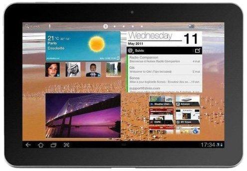 Samsung Galaxy Tab 10.1 - Tablet de 10.1 Pulgadas (Android 3.0, 32...