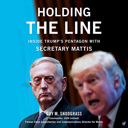 Holding the Line audiobook cover art