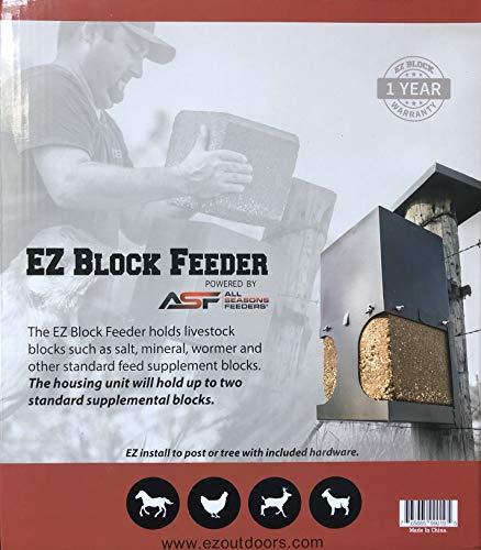 ASF All Seasons EZ Block Deer, Wildlife and Farm Animal Feeder