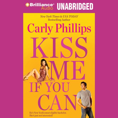 Kiss Me If You Can audiobook cover art