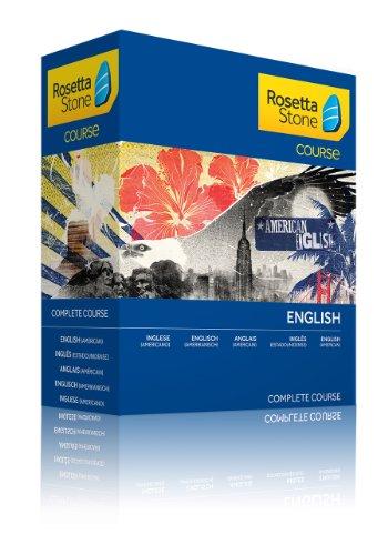 Rosetta Stone Course - Komplettkurs Englisch (Amerikanisch) [import allemand]
