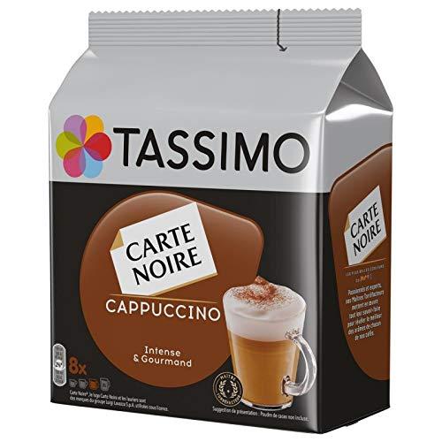TASSIMO - Carte Noire Café Dosettes Cappuccino 267G - Lot De 3 - Vendu Par Lot