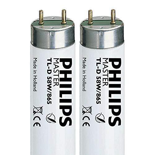 Philips Daylight 58W 865 5FT (1500 mm/150 cm) T8 tubo fluorescente (G13) 6500 K SAD