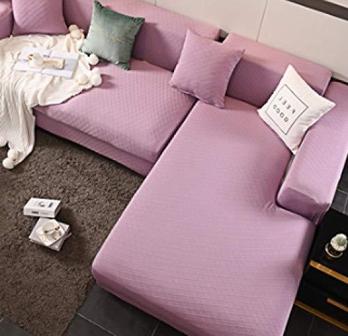 lxylllzs Sofa Couchbezug Sesselbezug 4 Sitzer,Verdickte Stretch-Sofabezug All-Inclusive Universal Anti-Cat Scratch Sofabezug-235-300cm_9,SofaüBerwurf Stretch Weich