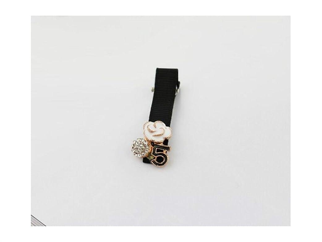 吐き出すローブ元気なOsize 美しいスタイル シンプルなバングズクリップサイドクリップヘアピンダックビルクリップ女性のヘアアクセサリー(フラワー+ 5)