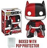 Funko POP! Heroes: Batman Impopster: Batman as Harley Quinn Vinyl Figure (Bundled with Pop Box Protector Case)