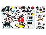PENGO Set di 12 tovagliette in Polipropilene Disney Originali Mickey CP