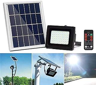 BBZZ 400LM 54 LED Lampe solaire de sécurité Panneau solaire Projecteur Projecteur Projecteur Projecteur Projecteur Project...