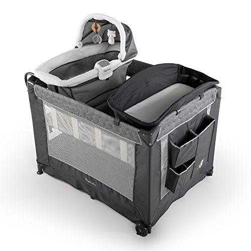 Ingenuity DreamComfort Smart and Simple Packable Portable Playard with Changing Table - Connolly