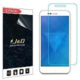 J&D Compatible para 8 Paquetes Smart Prime 7 Protector de Pantalla, [NO Cobertura Completa] Prima Escudo de Película Transparente HD Protector de Pantalla para Vodafone Smart Prime 7