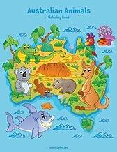 Australian Animals Coloring Book 1 (Volume 1)