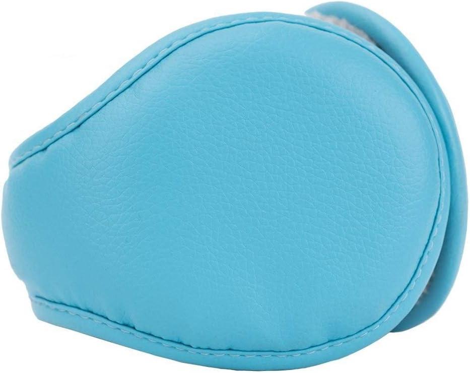 ZYXLN-Earmuffs,Earmuffs for Women Earmuffs for Men Warm Earmuffs Couple Earmuffs Foldable and Stretchable Winter Outdoor Earmuffs Behind The Head Earmuffs (Color : Light Blue)
