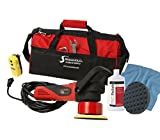 "Shurhold 3101 Dual Action Random Orbital Car Boat Buffer Polisher Starter Kit with 16oz Pro Polish Wax & Sealant, 6.5"" Foam Pad, Microfiber Towel, and Carrying Bag"