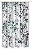 Vallila luontopolku Duschvorhang, 180x 200cm, lila