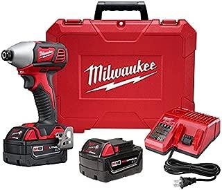Milwaukee 2657-22 M18 2 Speed 1/4 Hex Impact Driver Xc Kit