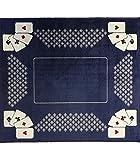 CaliCosy - Tappetino per Carte da Gioco, Colore: Blu...