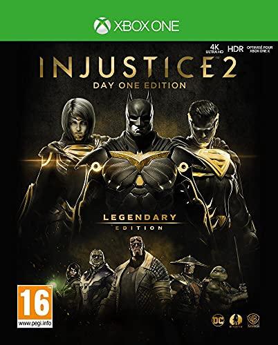 INJUSTICE 2 LEGENDARY EDITION – Edition limitée Steelcase – Inclus un Coin Collector - Xbox One [Importación francesa]