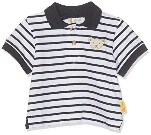 Steiff Steiff Baby-Jungen Poloshirt, Weiß (Bright White 1000), 62
