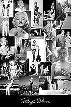 Buyartforless Marilyn Monroe Picture Collage 36x24 Giclee Art Poster Print by Kelissa Semple