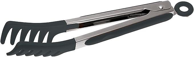 289 opinioni per Sambonet Gadgets- Pinza/Molla Spaghetti in Acciaio Inox 18/10 e Silicone, 23 cm-