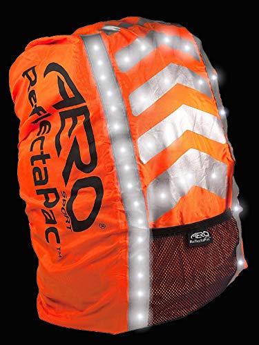 Aero Sport ReflectaPacTM 3M Scotchlite Hi Viz Waterproof Rucksack Backpack Cover