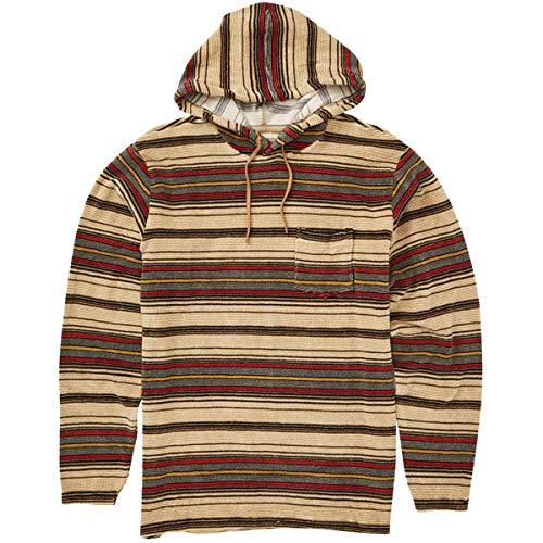 Billabong Herren Flecker Ensenada Pullover Hoody Sweatshirt, Khaki, Small