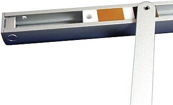 Glijrail GEZE T-Stop-BG, voor TS 3000/5000, zilver; 1 stuk