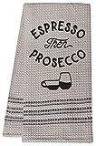 CWI Gifts Espresso Then Prosecco Dish Towel, Multi