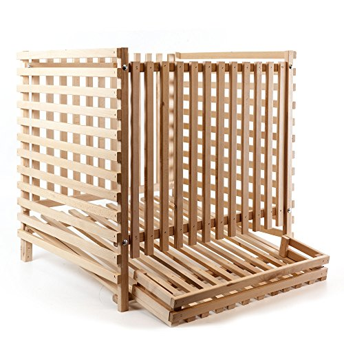 Holzfee Kartoffelkiste Holz-Stiege (200 kg)