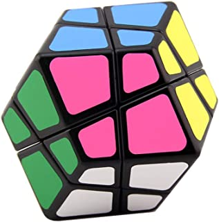 SUN-WAY Four Axis Dodecahedron Magic Cube Speed Cube RhombicFace Twisty Skewb Cube Puzzle Toys