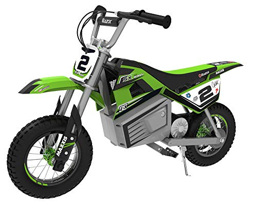 Razor SX350 Dirt Rocket McGrath Electric Motocross - Green - FFP