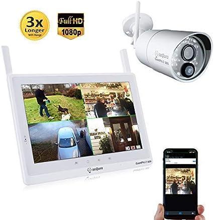 Sequro GuardPro2 Plus 1080P Home Surveillance Camera...