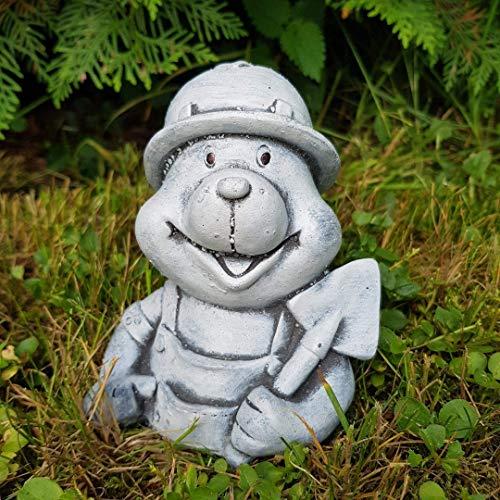 Steinfigur der kleine Maulwurf frostfest Deko Garten Blumen Kinder Tierfigur
