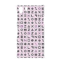 ハードケース スマホケース Xperia Z1 (SO-01F・SOL23) 対応 [古代文字風・ピンク] サイン記号 エンシェント SONY ソニー エクスペリア ゼットワン docomo スマホカバー 携帯ケース 携帯カバー [FFANY] ancient_aam_h210112
