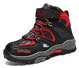 Vituofy - Botas de senderismo para niños, unisex, para niños, para trekking y senderismo, color Negro, talla 40 EU