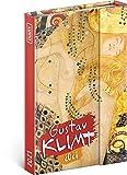 Taschenkalender 2021 A6 - Terminplaner mit Magnetverschluss - Terminkalender, Wochenplaner, Buchkalender, Hardcover Wochenkalender 2021 (Gustav Klimt)