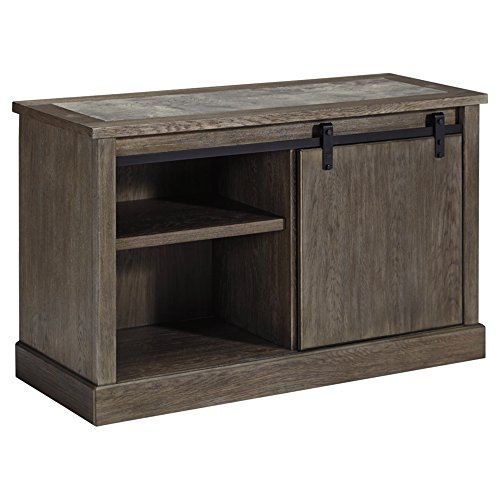 Signature Design by Ashley Luxenford Large Credenza Grayish Brown