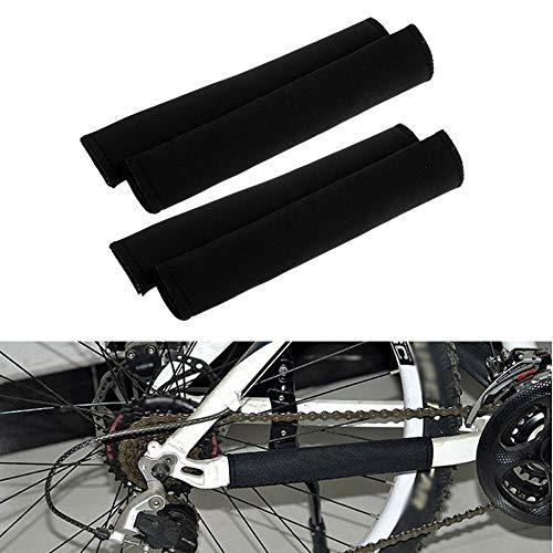 SHUAIGUO Bicicleta Cadena Protector de Cadena Cadena de la Bicicleta Publicado Protección Guardia Cuidado Ciclo del Camino de MTB Accesorios 4PCS