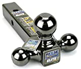 Reese Towpower 7039800 Triple Ball Mount, Black Nickel, Versatile and Universal...