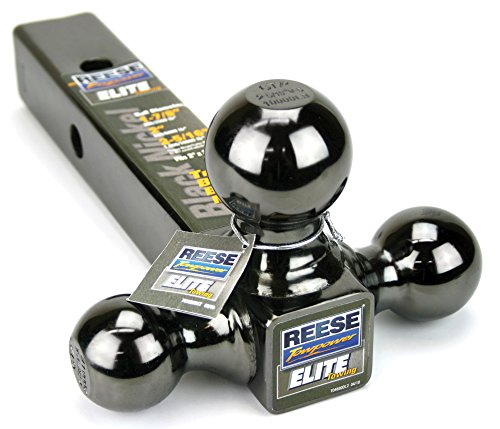 Reese Towpower 7039800 Triple Ball Mount Black Nickel Versatile and Universal