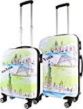 normani Trolley-Kofferset Ultra-Light mit 4 Rollen, 2tlg. Farbe New York